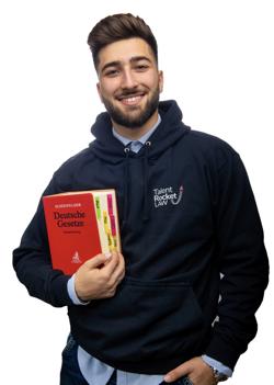 Merih Rastoder - Jurastudent Uni Osnabrück und TalentRocket Campus Captain