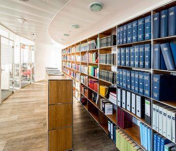Bibliothek Standort München Fieldfisher Spezialkanzlei