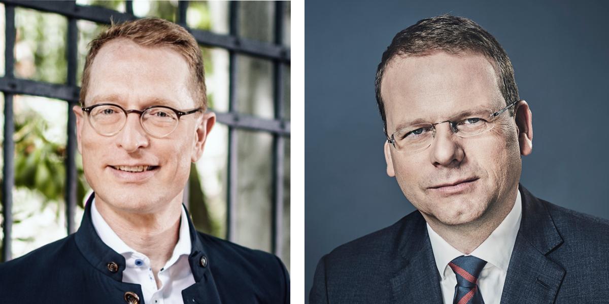 Prof. Dr. Mark Lembke und Dr. Bjarne Petersen