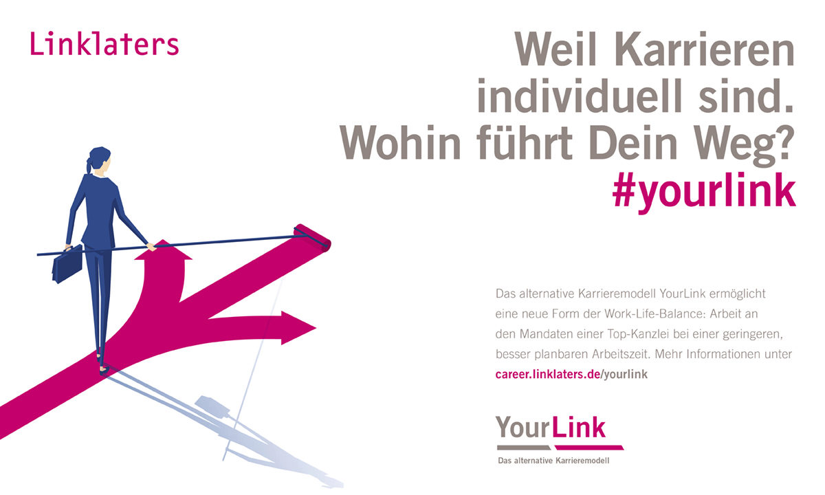 YourLink - Arbeitszeitmodell von Linklaters LLP