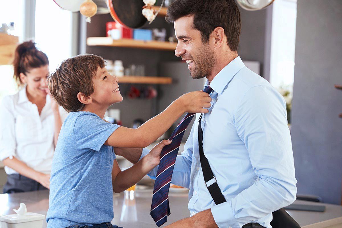 Als Vater und Jurist beim Finanzamt - Life-Balance?