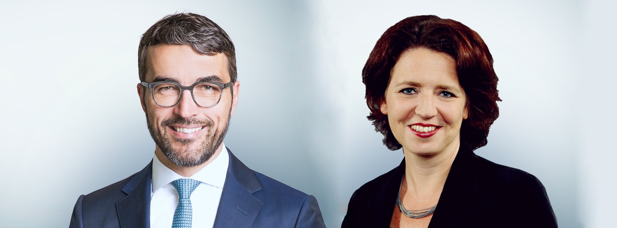Freshfields Mario Hüther und Christina Spenke