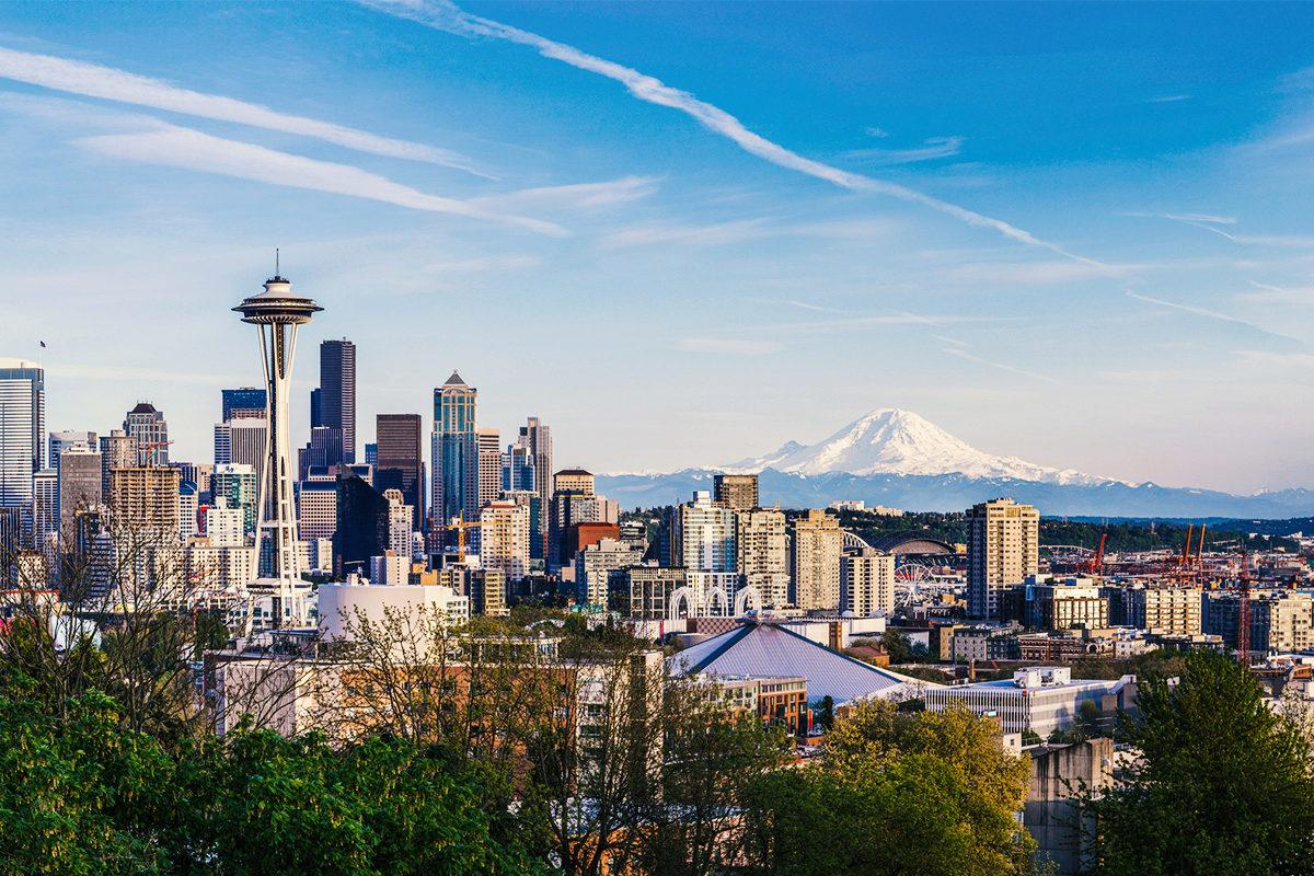 Wahlstation in Seattle. TalentRocket hat einen Erfahrungsbericht