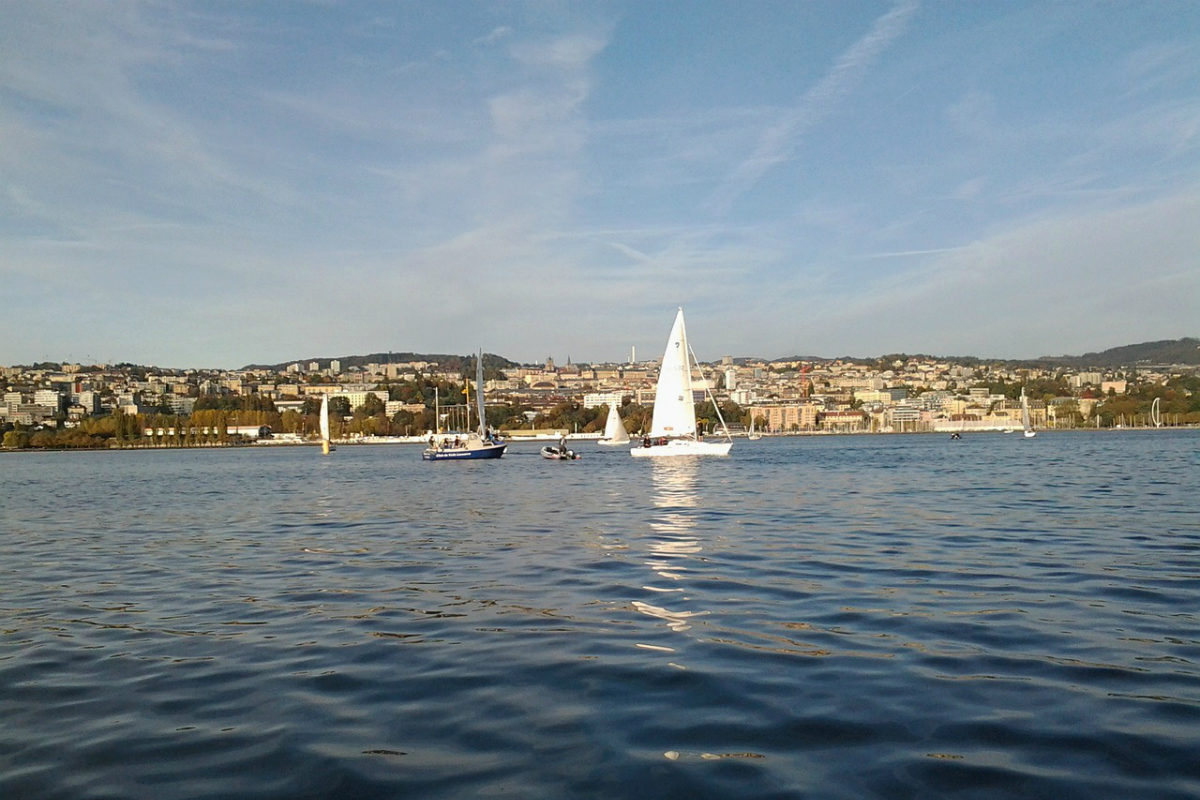 Lausanne, See, Boot