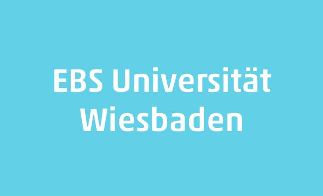 EBS Universität  für Wirtschaft und Recht Wiesbaden Logo