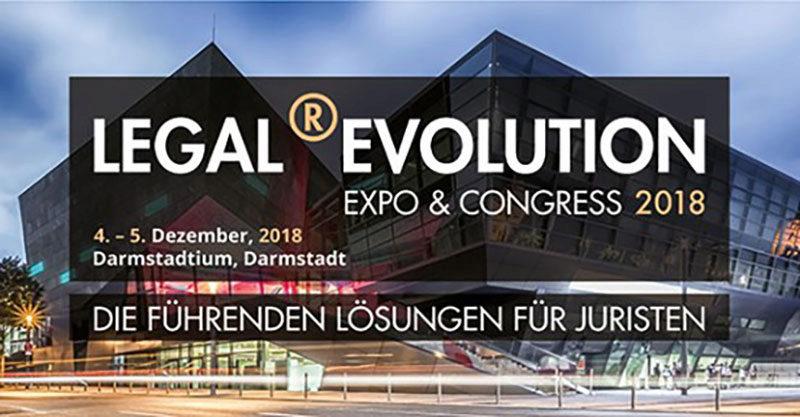 LEGAL ®EVOLUTION Expo und Congress 2018