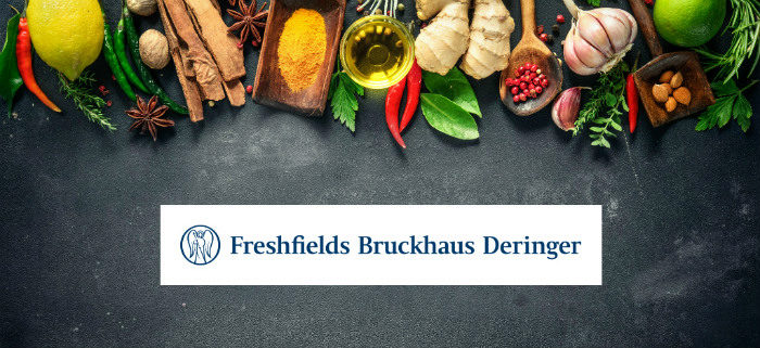 Spice up your career – Freshfields in vier Gängen