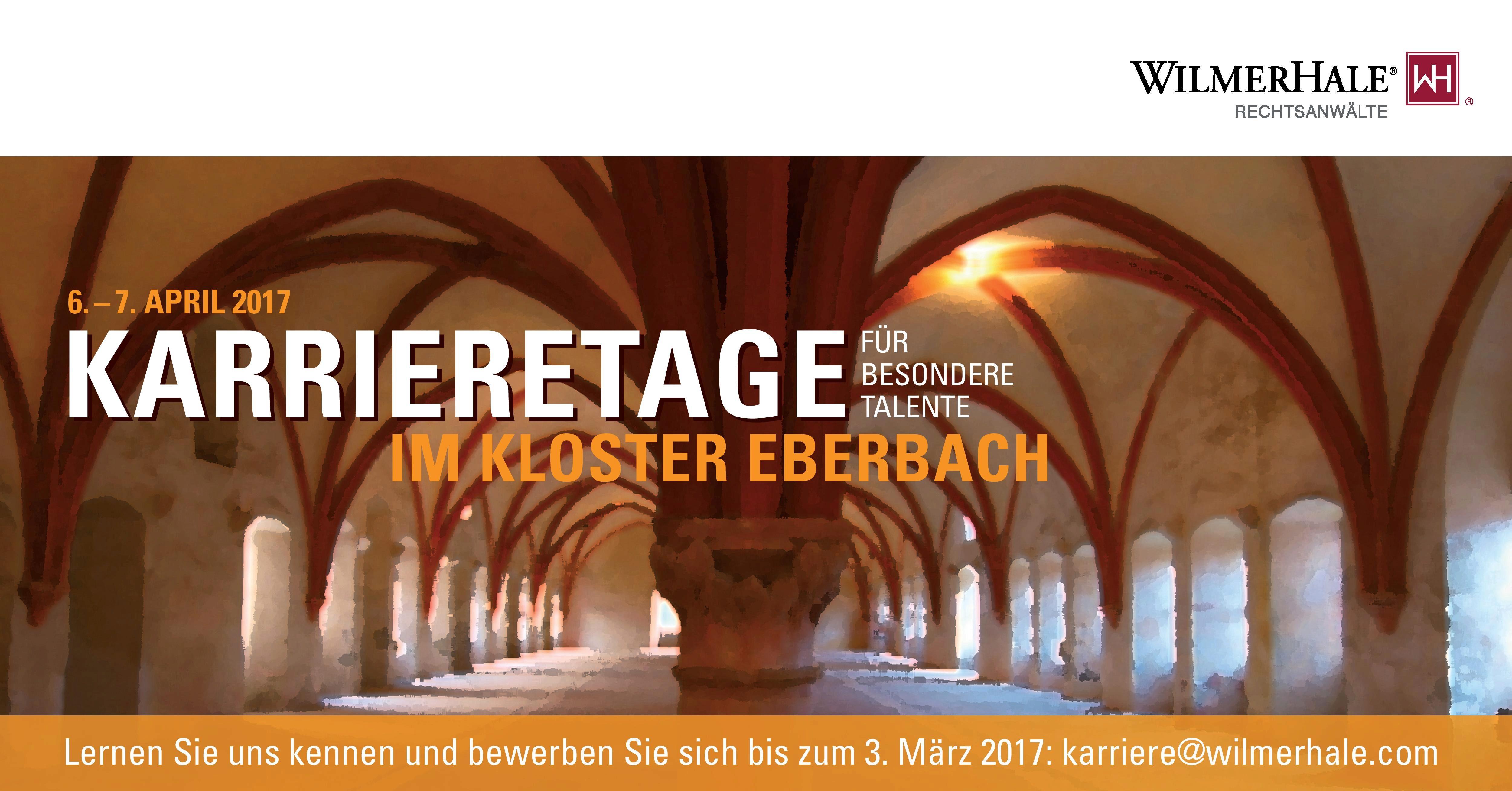 Karrieretage im Kloster Eberbach