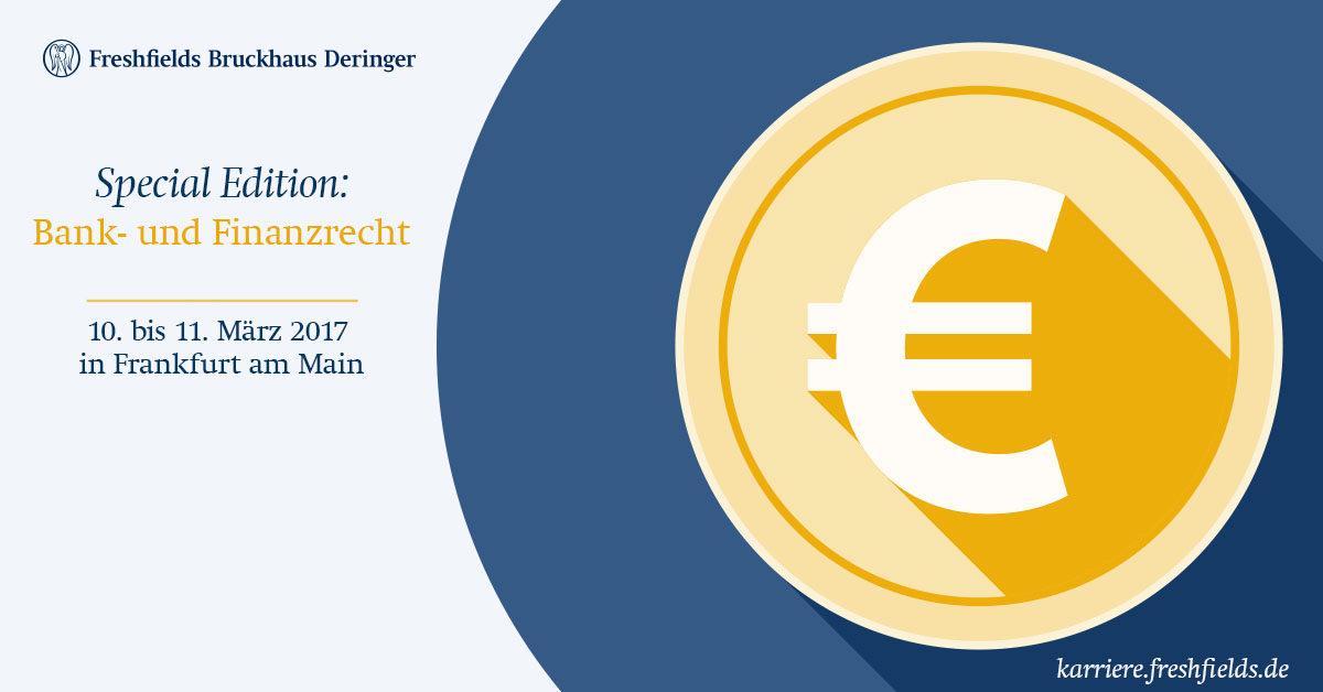 Freshfields Workshop Special Edition: Bank- und Finanzrecht