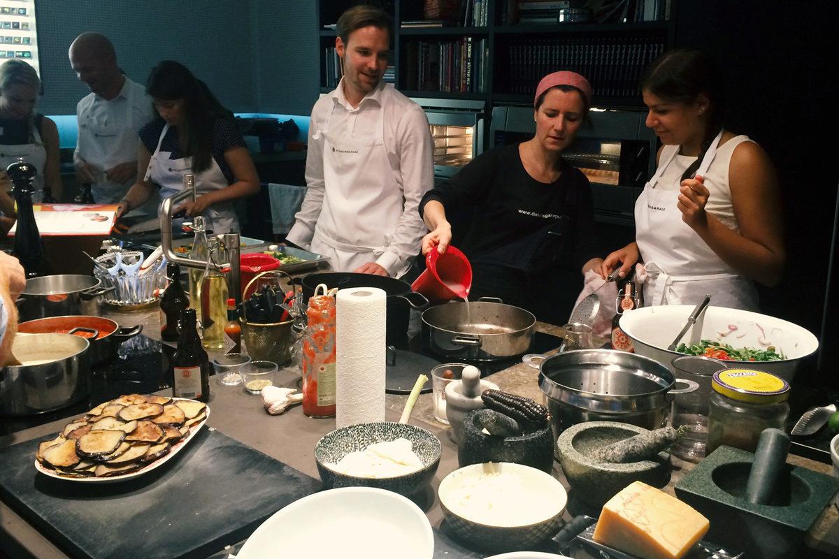 Meet Baker Tilly Roelfs & Koch-Event in der KOCHGARAGE
